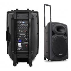 Prenosno ozvočenje IBIZA DJ PORT15VHF-N